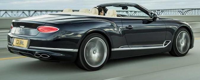 硬顶版/敞篷版 2020款宾利欧陆GT V8上市