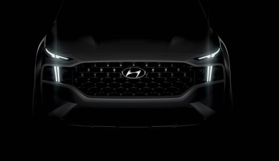 定位中型SUV/9月欧洲发布 现代新款胜达预告图曝光