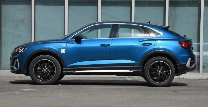 个性新选择 轿跑版奥迪Q3 Sportback即将上市