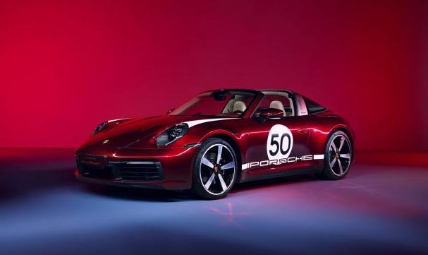 限量992台 保时捷发布全新911 Targa特别版官图