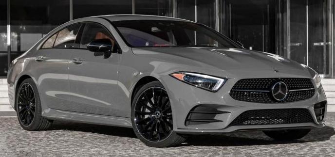 新增两种车身颜色 海外版新款奔驰CLS配置调整