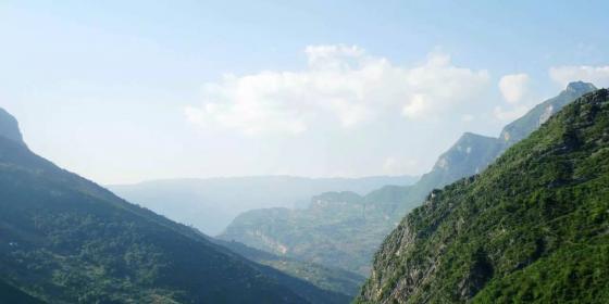 商洛戴云山云海壯麗 海拔1278.5米